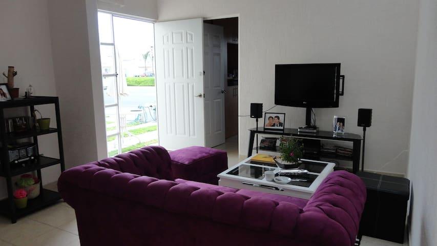 the modern livingroom