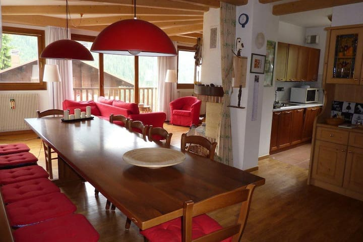 Bright flat in Cadore - Selva di Cadore - Appartement