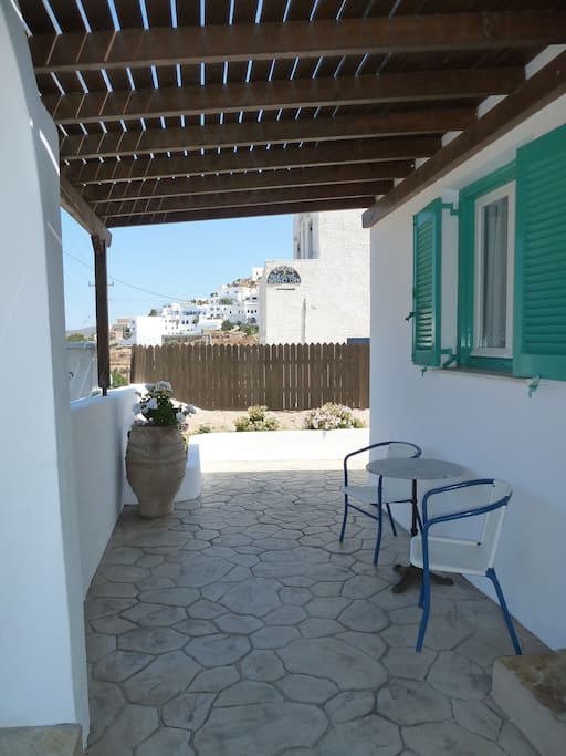 veranda for studio for 2