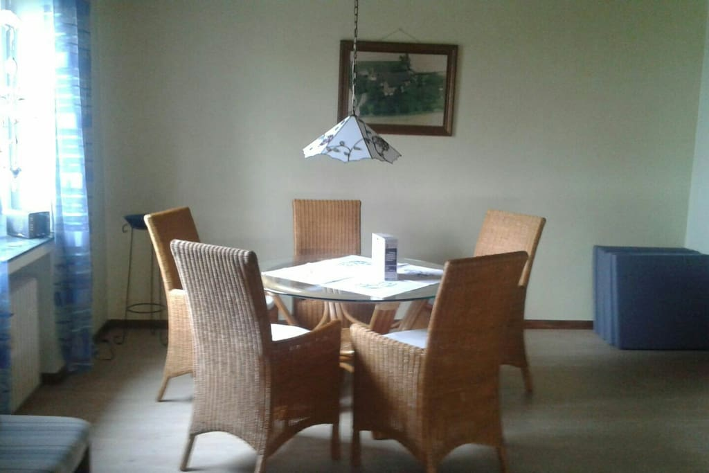 Dining area for max. 6 People.