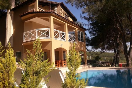 Private Villa with Swimming Pool - Akyaka