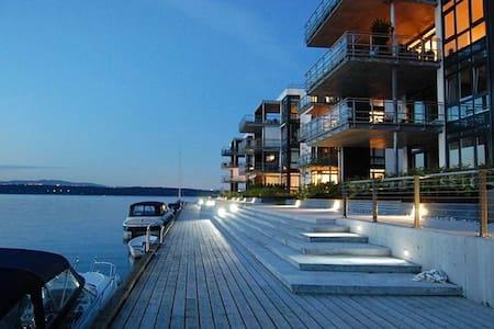 New high standard apartment 100m from the sea! - Bærum - Lägenhet