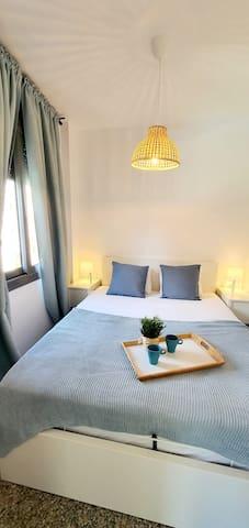 cama canapé de matrimonio