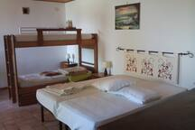 Doublebed and loft