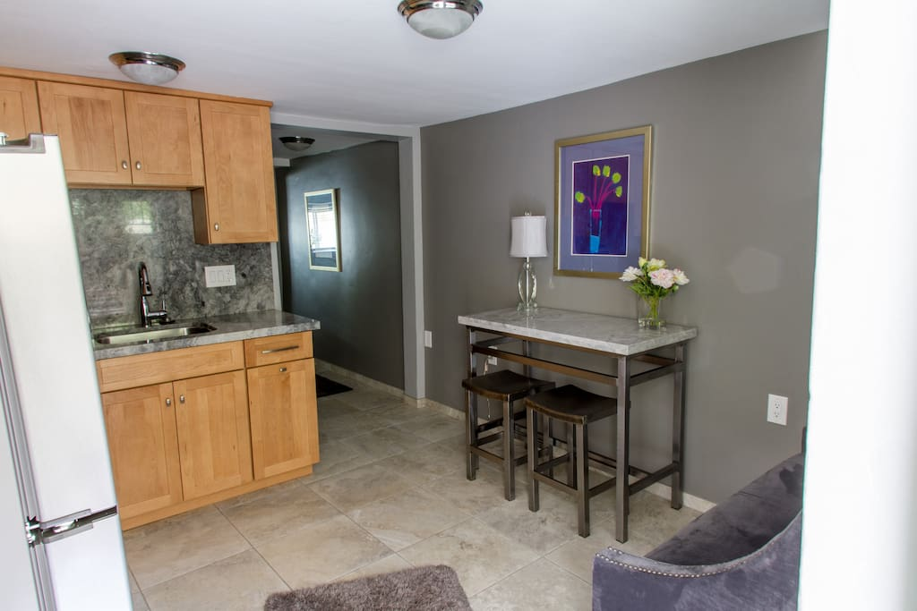 High End Finishes, Travertine Flooring and Quartz Countertops add to comfort and tranquility.