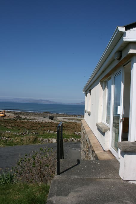 Side view from Islands View to Clew bay, a minute walk away