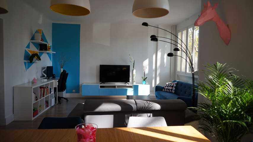 Spacious and comfortable 3 bedroom near Paris