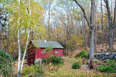 Charming Farmhouse in Old Mill Town - Canton - Haus