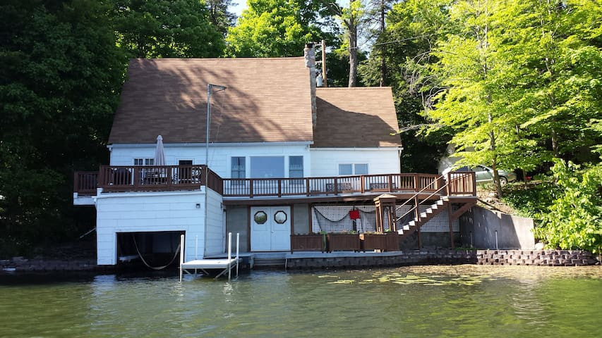 FingerLake Region LakeFront Cottage - Loon Lake - Casa
