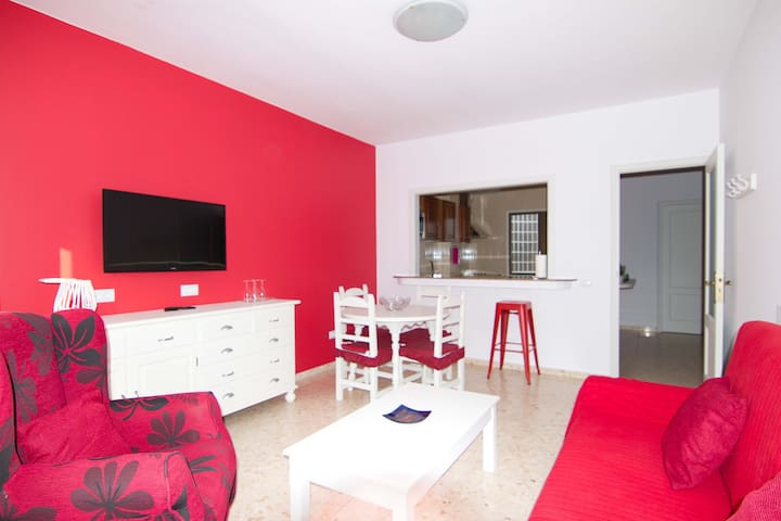 (2) Big apartment in Gran Tarajal Beach