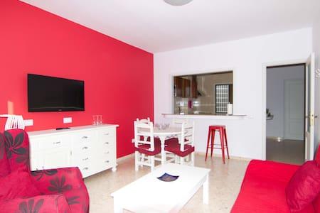(2) Big apartment in Gran Tarajal Beach - Gran Tarajal - Apartamento