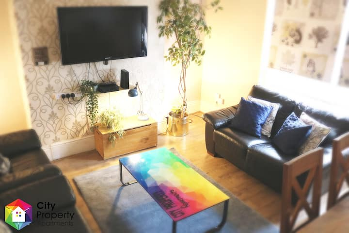 Apartment 35/Free Parking/0.7ml To Newcastle City