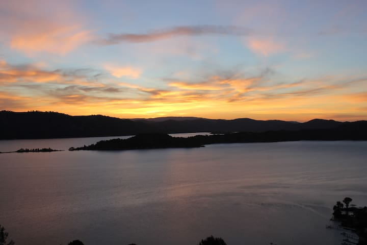 Beautiful Lake view house 8256 - Kelseyville - Hus