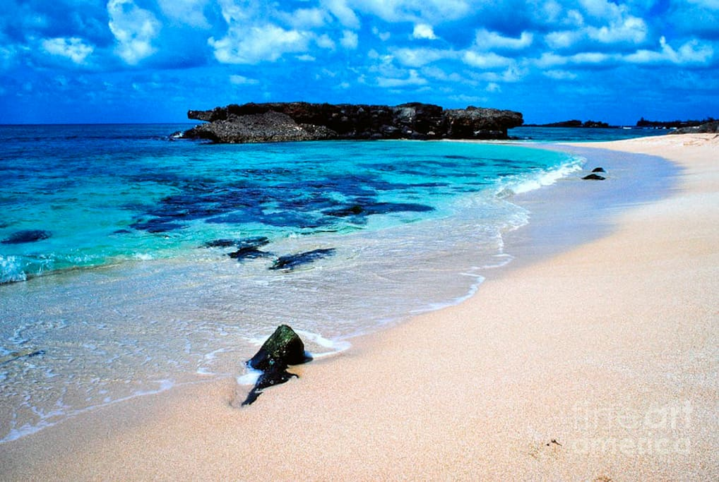 Our beautiful beach just a short walk away.