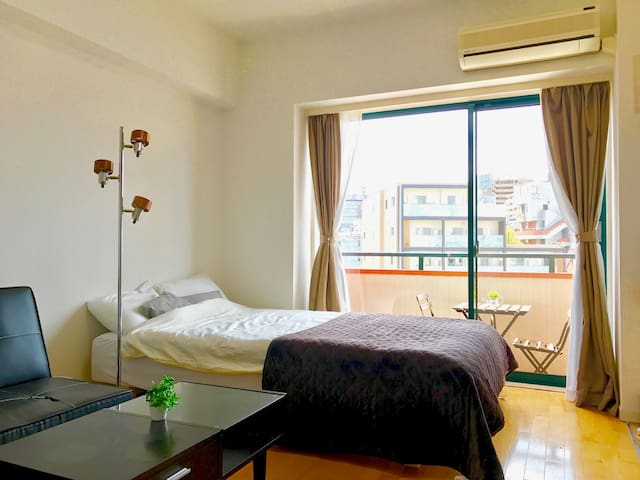 New!Good prospect in middle of Shibuya渋谷で見晴らし最高の物件 - Shibuya - Apartment