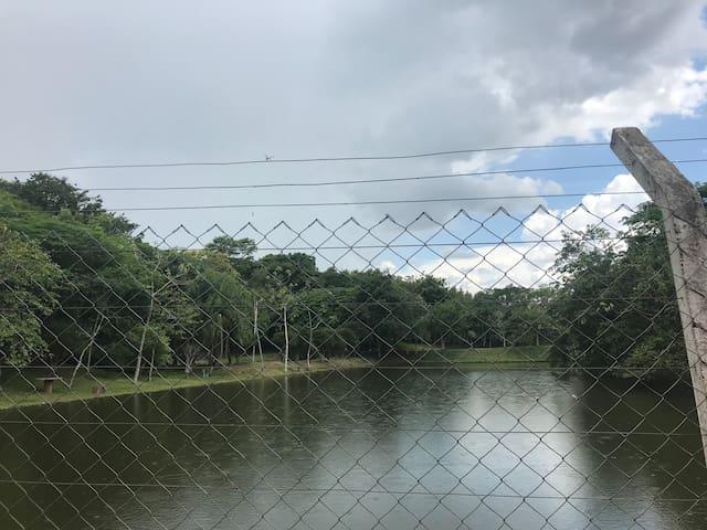 Chácara de Lazer e Pesca Rio Ívai Com Piscina