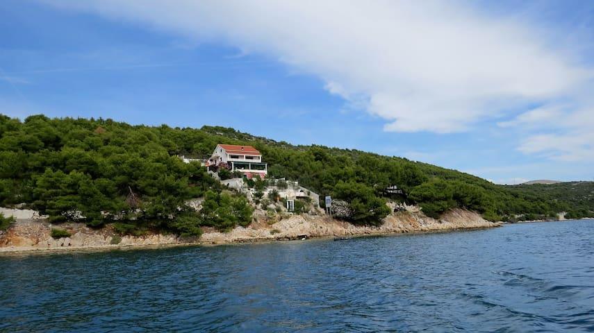 Villa Duda - Luxury duplex- Blue - Poljica