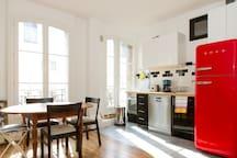 Lovely 2 rooms Paris - La Villette and canals