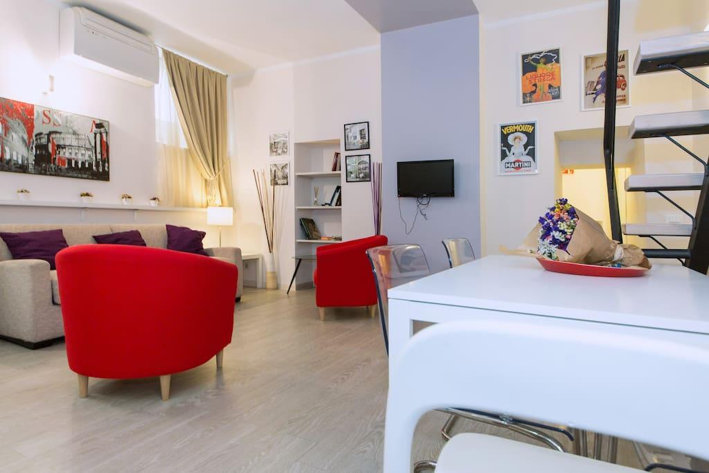 roman forum apartment wohnungen zur miete in rom latium italien. Black Bedroom Furniture Sets. Home Design Ideas