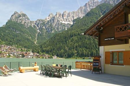 Chalet al Lago Alleghe Civetta - Masaré - スイス式シャレー