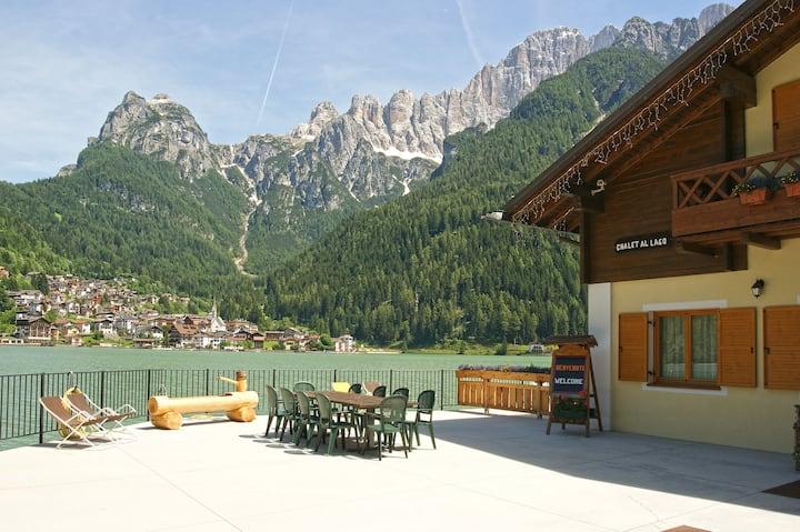 Chalet al Lago Alleghe Civetta
