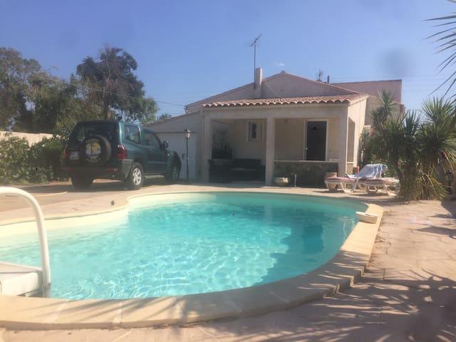 Studio avec piscine - Ventiseri - Bungalow