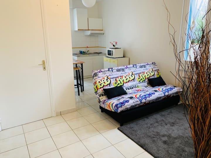 Appartement T1 bis, location à la semaine
