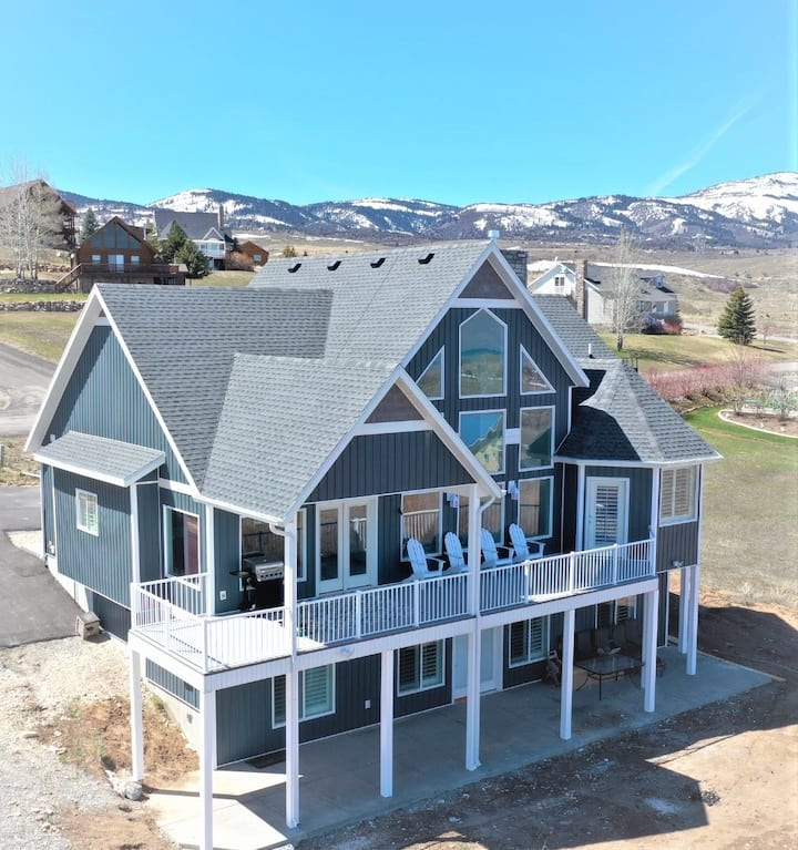 New Listing and new build! Beautiful 5 bedroom home with amazing views and close to everything!