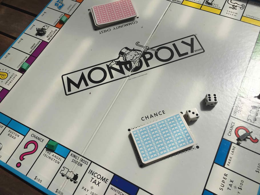 Play favourite games-Monopoly