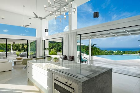 Luxury modern Caribbean villa - Lower Carlton - Villa