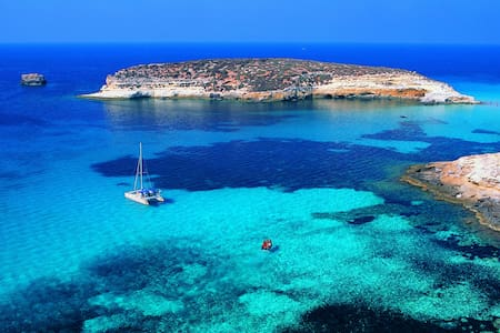 Casetta Paladini + giardino vicina spiaggia - Lampedusa - Rumah