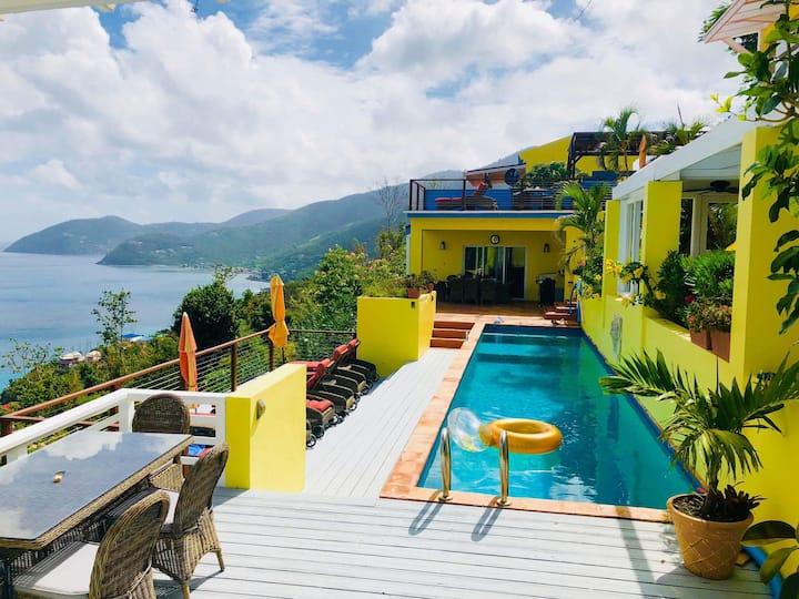Luxury LongView Villa Stunning Sea and Beach views