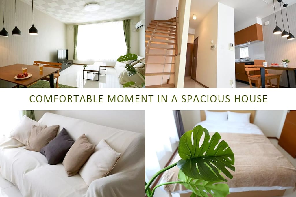 comfortable moment in a spacious house
