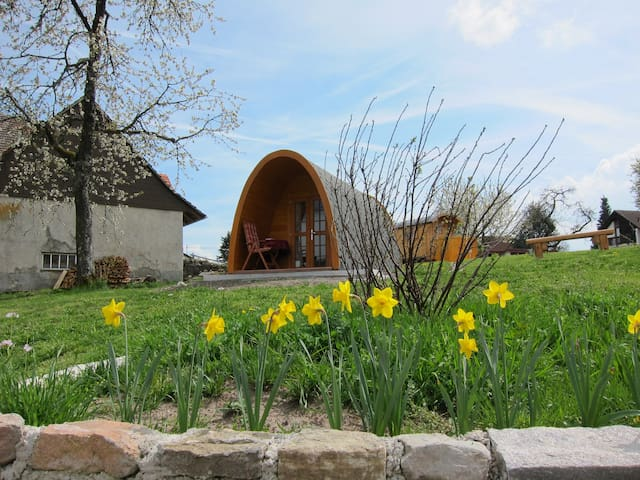 PODHouse - Black Forest Germany -Glamping is more! - Ühlingen-Birkendorf - Bed & Breakfast