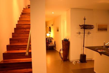 Bright en-suite bedroom in contemporary home - Choulex - Ev