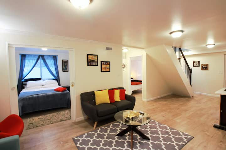 3304 Bsmnt · NE DC LUX 2BR New Stylish Modern Sunny lowerApt