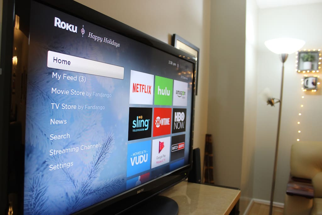 TV streams Netflix, HBOGO and others