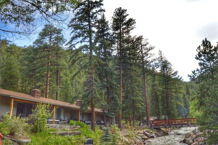 Rustic River Lodge Queen Room