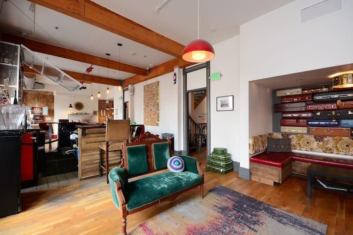 "Stay @ ""One of America's BEST Hostels"""