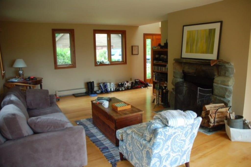 Main Level - Living Area