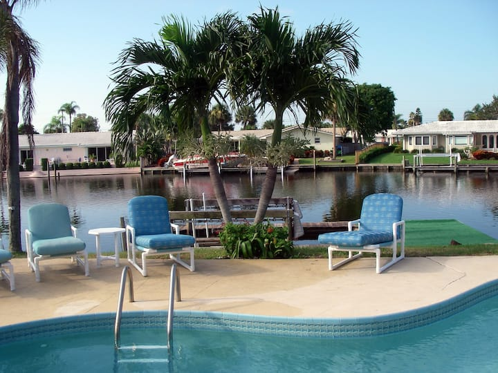 Near Beach, On a Canal, Pool Home - Great Location