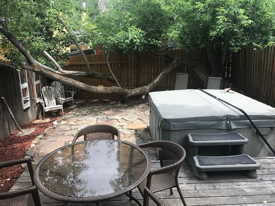 Fenced In Backyard w/ Hot Tub and BBQ