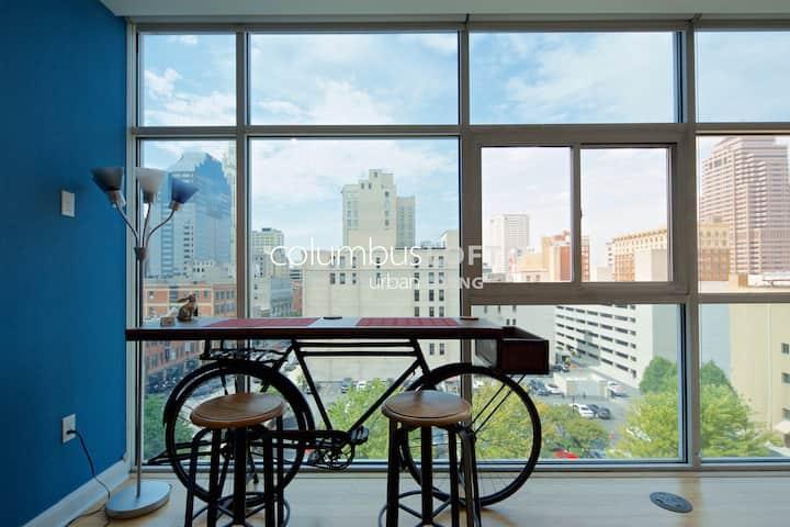 The Skyline Bike Condo—DOWNTOWN/ARENA/CONV CENTER