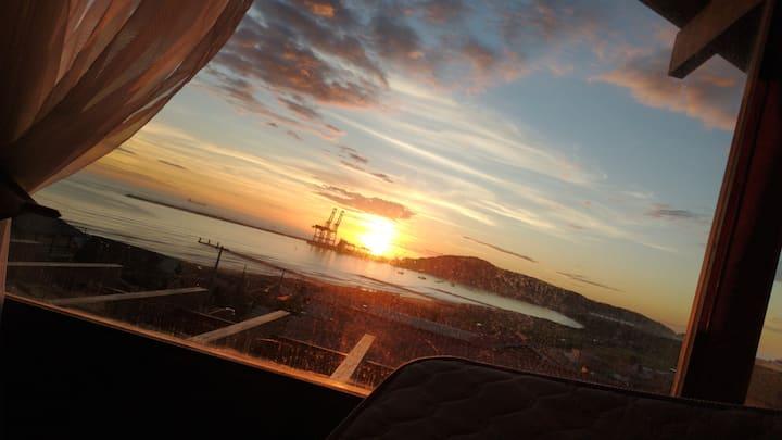 Vista do porto dois