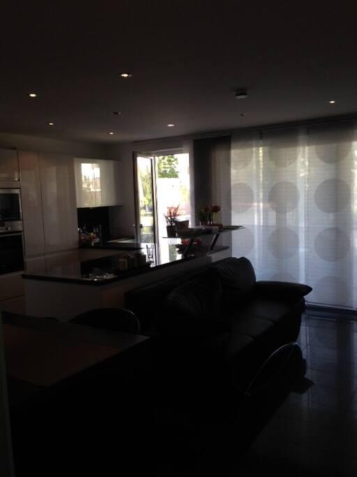 Bodentiefe Fenster in der gesamten Wohnung