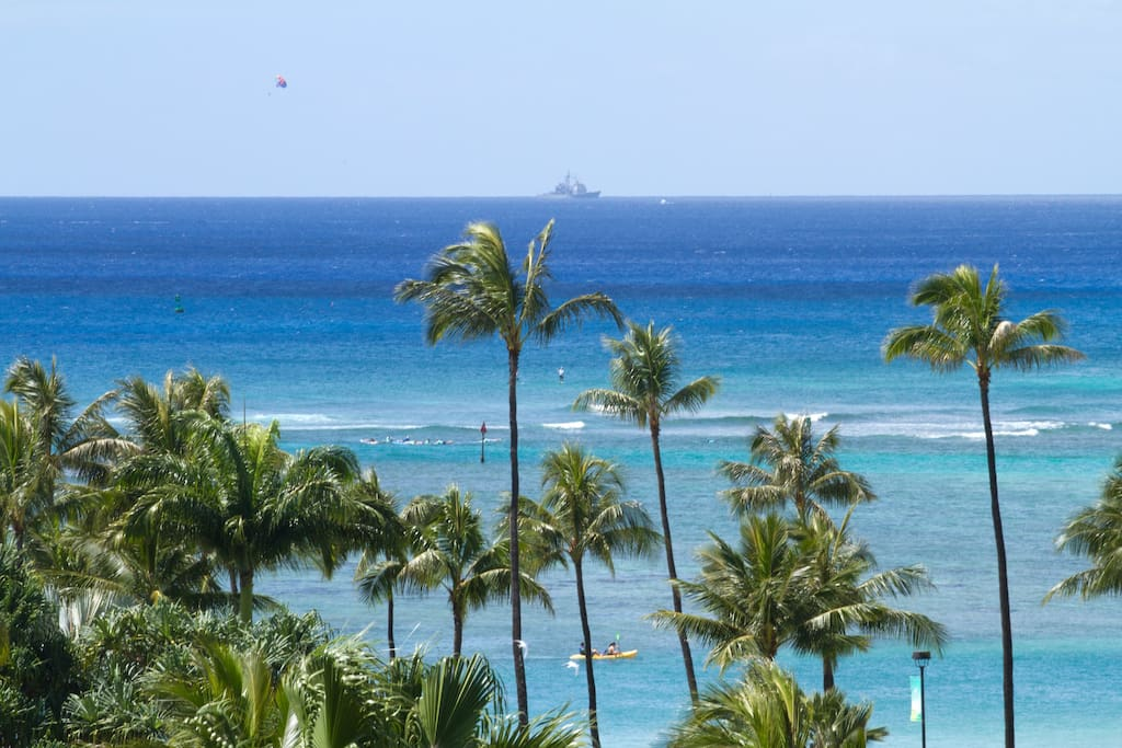 You can wake up to this every morning! Ocean views from suite.