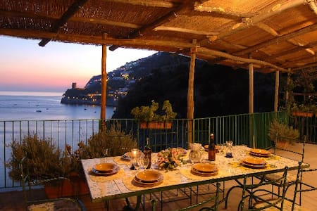 Villa SUNSET with sea view - Furore
