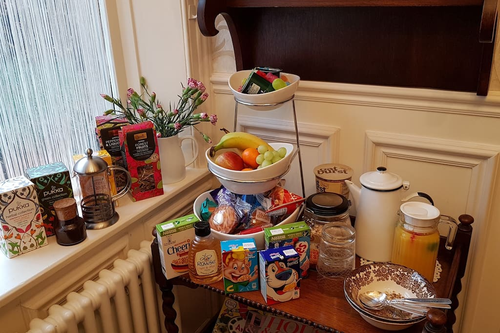 CONTINENTAL BREAKFAST served every morning.