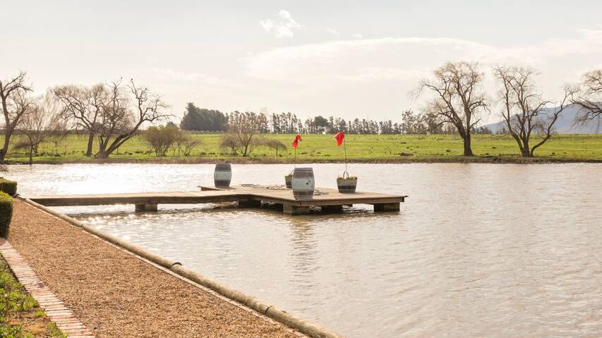 Waterside 2a, Le Bonheur croc farm