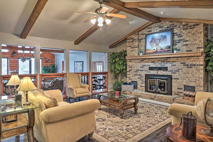 NEW! Waterfront Retreat w/ Boat Dock & Game Room!